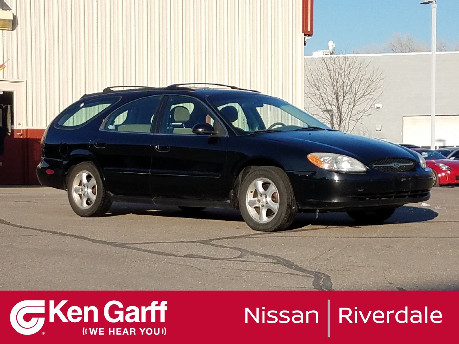 Pre-Owned 2003 Ford Taurus 4DR WGN SE